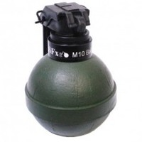 M10 Ball Grenade Pea Filled TLSFx Pyrotechnics   ISO Approved   Milsim Pyro   Paintball