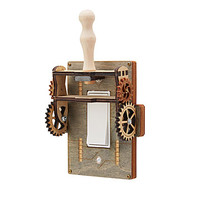Frankenstein Switch Plate | steampunk lighting