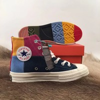 Converse chuck70 Women Casual Shoes Boots fashionable casual leather Women Heels Sandal Shoes