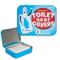 Amazon.com: Accoutrements Emergency Toilet Seat Covers: Toys & Games