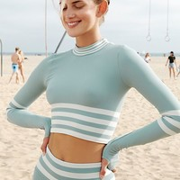 Triumph Stripe Turtleneck