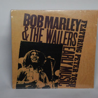 SEALED LP Album Bob Marley and the Wailers featuring Peter Tosh - Early Music Vinyl Record 1977 Reggae Ska Soul