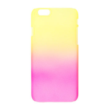 Yellow and Pink Ombre Cover for iPhone 6