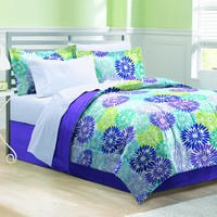 Space Living Bayberry Purple Bed In A Bag Comforters