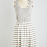 Mid-length Sleeveless A-line Two in Fun Dress