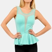 Sassy Girl Top - Mint