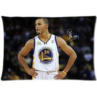 Custom Home Decorative Golden State Warriors Stephen Curry Zippered Pillowcase Pillow Case Cover 20x30 Two Sides Number-1