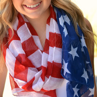 SWEET LAND OF LIBERTY SCARF