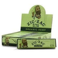 Zig Zag Natural Hemp Rolling Papers King Size