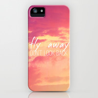 Fly Away iPhone & iPod Case by M Studio
