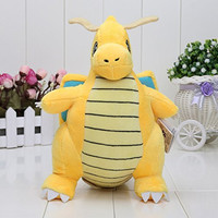 Pokemon Pikachu Dragonite Plush Soft Toy Stuffed Animal Gift Figure 9inch