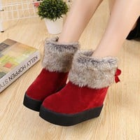 ICIK0OQ On Sale Hot Deal Height Increase Winter With Heel Boots [9432933386]