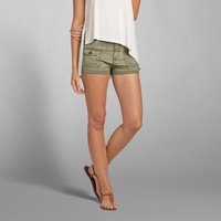 A&F High Rise Military Short