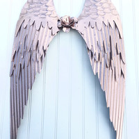 Angel Wings - Large Angel Wings Wall Decor - Angel Wings Nursery Decor - Girls Room - Girls Nur