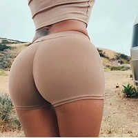 New fashion women's shorts female summer loose waist leggings short