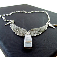 Destiel: A Dean Winchester / Castiel Supernatural Inspired Necklace