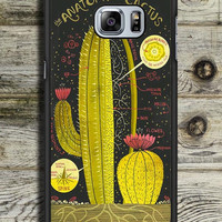 Anatomy Of A Cactus Samsung Galaxy S6 Edge Plus Case