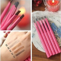Free Shipping Waterproof Durable Automatic Women Ladies New Eyebrow Pencil Eyebrow Liner Beauty Makeup Tools