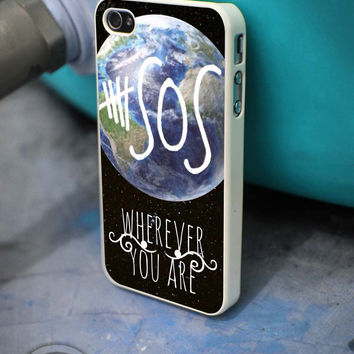 5SOS Wherever You Are iPhone 4 5 5c 6 Plus Case, Samsung Galaxy S3 S4 S5 Note 3 4 Case, iPod 4 5 Case, HtC One M7 M8 and Nexus Case