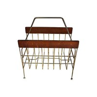 Pre-owned 1960's Rosewood Magazine Rack