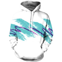 Jazzy 90s Paper Cup Hoodie