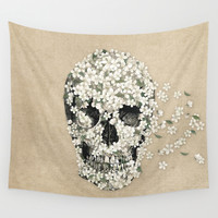 A Beautiful Death  Wall Tapestry by Terry Fan