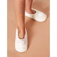 Slip On Fluffy Slippers