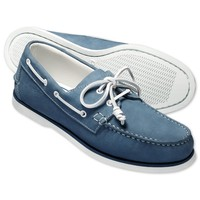 Light blue Henley boat shoes   Men's casual shoes from Charles Tyrwhitt   CTShirts.com