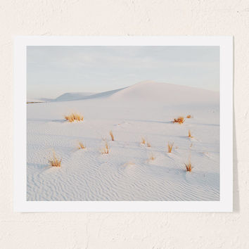 Kevin Russ White Sands Art Print   Urban Outfitters