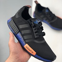 Adidas NMD R1 Runner knitted wild sports running shoes