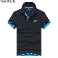 POLO New 2017 Men Polo JUST DO IT  Brand Clothing Male Fashion Casual Polo Shirts S-3XL free shipping