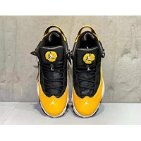 NIKE Air Jordan 13 Retro New fashion sports leisure running shoes Yellow