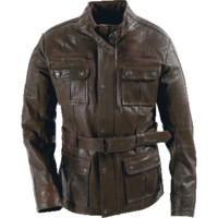 Max Mens Leather Jacket