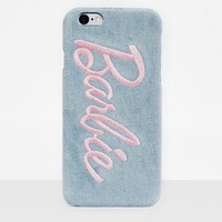 Missguided - Barbie x Missguided Blue Denim Printed Phone Case Iphone 6