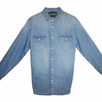Denim Dress Shirt