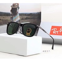 RayBan Ray-Ban Fashion Women Men Casual Sunglasses Sun Shades Eyeglasses Glasses Sunglasses Green I-A-SDYJ