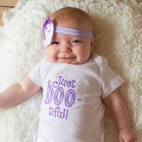Just BOO-tiful bootiful one piece bodysuit and ghost headband made to order please read turnaround times!