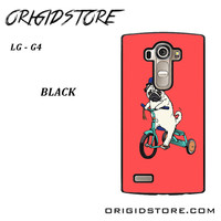 Pug Bicycle For LG G4 Case UY