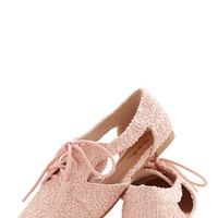 ModCloth Pastel Impromptu Good to Be True Flat
