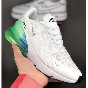 NIKE Air Max 270 Flyknit Breathable jogging shoes