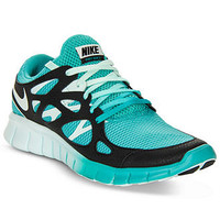 Nike Women's Shoes, Free Run+ 2 EXT Running Sneakers - Kids Finish Line Athletic Shoes - Macy's