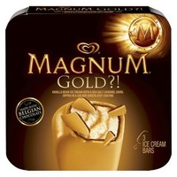 Magnum Gold Ice Cream Bar 3 pack