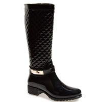 Taza Quilted Waterproof Rain Boot