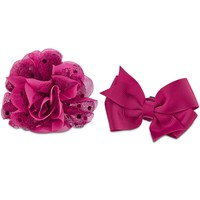 Bond & Co. Pink Flower Bow 2 Pack | Petco Store