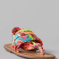 DIRTY LAUNDRY SHOES, BEEBOP FABRIC SANDAL