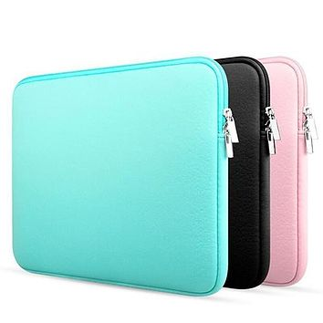 Laptop Notebook Sleeve Case Carry Bag Pouch for Macbook Air/Pro 11/13/15 inch
