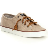 Sperry Seacoast Waxy Canvas Sneakers | Dillards