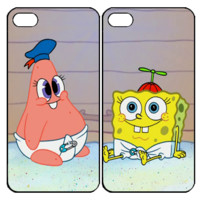 patrick and spongebobSamsung Galaxy S3 S4 S5 Note 3 4 , iPhone 4 4S 5 5s 5c 6 Plus , iPod Touch 4 5 , HTC One M7 M8 ,LG G2 G3 Couple Case