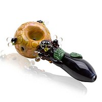 Empire Glassworks Bee Hive Spoon Pipe - Large