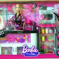 Barbie I can be a TV Chef Doll and Playset Pink Edition